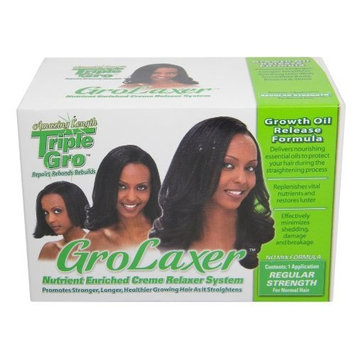 Triple Gro GroLaxer Nutrient Enriched Regular Strength Creme Relaxer System