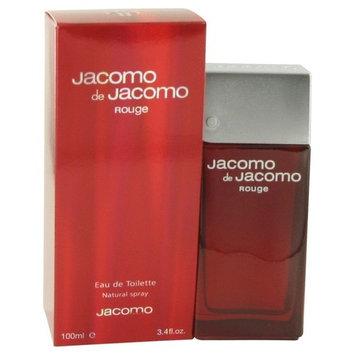 Jacomo Rouge by Jacomo for men Eau De Toilette Spray 3.4 Ounces
