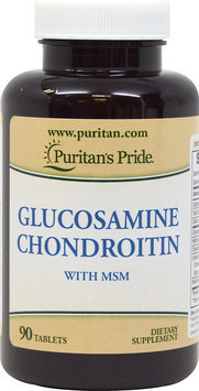Puritan's Pride Glucosamine Chondroitin with MSM-90 Tablets