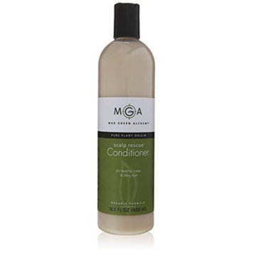 Max Green Alchemy Organic Formula Scalp Rescue Conditioner Value Size Bottle (16.5 Fluid Ounces) - Strengthens And Nourishes Hair And Scalp, Sulfate And Paraben Free, Unisex, Washes Out No Buildup