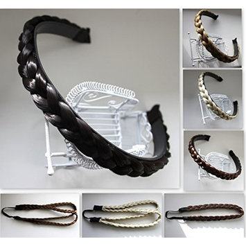 PRETTYSHOP Headband Plaited Braid Hair Band Hair Piece Different Colors