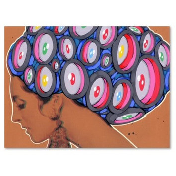 All Eyes On Her' by Ric Stultz Ready to Hang Canvas Wall Art