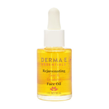 Derma E Rejuvenating Sage & Lavender Face Oil, 1 oz