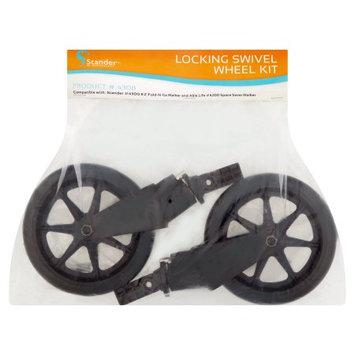 Stander Able Life Walker Locking Swivel Wheel Kit (Set of 2)