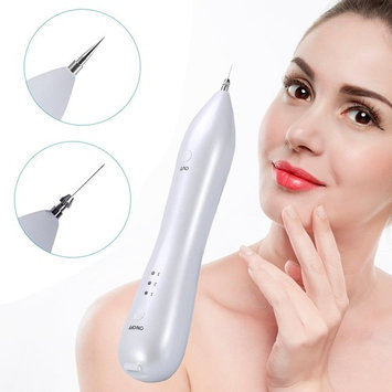 SKINOSM Mole Removal Pen 8 Levels Portable Skin Tag Freckle Removal Pen USB Rechargeable Beauty Pen For Body & Facial Nevus Warts Age Spot Tattoo Remover Home & Professional [mole removal pen]