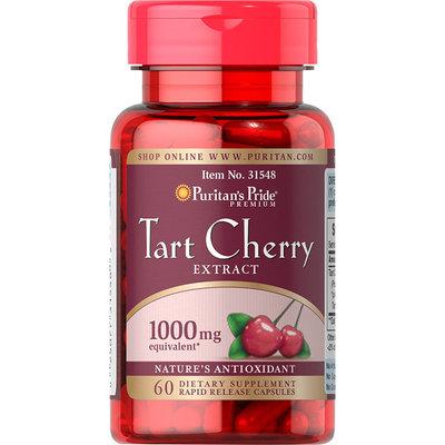 Puritan's Pride Tart Cherry Extract 1000 mg-60 Capsules