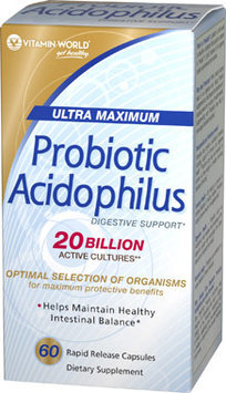 Vitamin World Acidophilus Complex