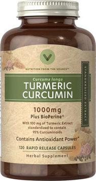 Vitamin World Turmeric Curcumin 1000mg