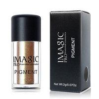 IMAGIC 9 Colors Matte EyeShadow Powder,YOYORI Charming Loose Sparkly Pearlescent Sparkly Professional Vegan Nudes Warm Natural Bronze cSmoky Eye...