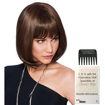 Classic Page Wig by Hairdo, 15 Page Christy's Wigs Q & A Booklet & Wide Tooth Comb COLOR SELECTED: R6/30H