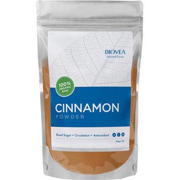 BIOVEA 100% Organic Raw Cinnamon Powder, 1 lb