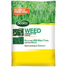 Scotts 5,000-sq ft Weed Control Lawn Fertilizer 49801A