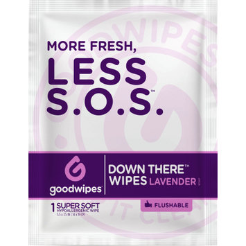 Goodwipes Down There Wipes 16ct. Singles