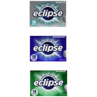 Eclipse Mint Gum Variety, 18 Pack