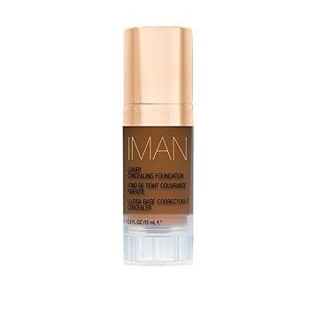 IMAN Cosmetics Concealing Foundation, Dark Skin, Earth 5