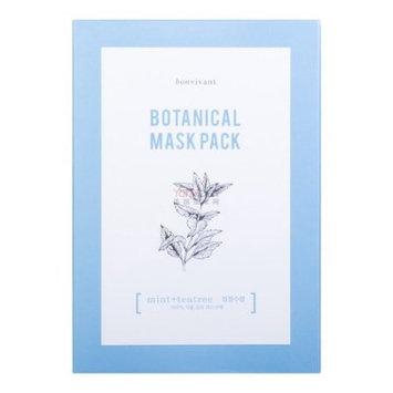 Bon Vivant- Mint + Tea Tree Botanical Mask Pack 10 each