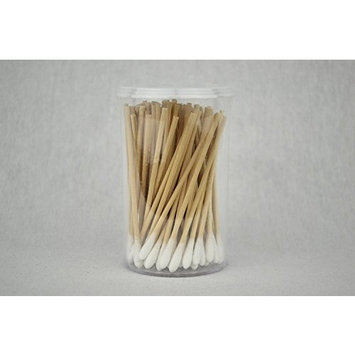 Certified Safety Cotton Swabs, 3 Inch Length - 3/Bottles of 100