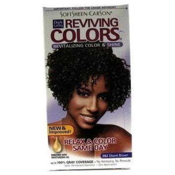 Dark & Lovely Revitizing Color #392 Ebone Brown Semi-Permanent (Case of 6)