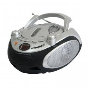 Naxa NPB-245 Portable CD Player & AM/FM Stereo Radio