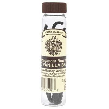 Nielsen Massey Pure Madagascar Vanilla Beans, 1 Vial of 2 Beans