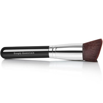 BEST KABUKI MAKEUP BRUSH With Big Angled Top - For Liquid, Cream Mineral, Bare Powder Foundation & Face Cosmetics, Prime Design, Case Included