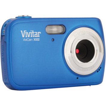 Vivitar Vx022-Blu 10.1 Megapixel Digital Camera, Blue