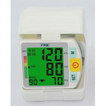 FDK FT-B14W-V 3-Color Backlit Talking Wrist Cuff Blood Pressure Monitor