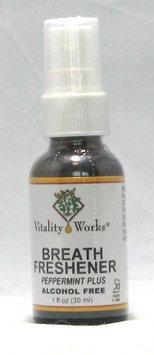 Breath Fresher Spray Vitality Works 1 oz Spray