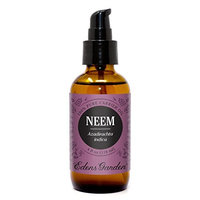 Neem Carrier Base Oil for Diluting Essential Oils and Aromatherapy, 4 Ounces, Cold-Pressed, Pure Therapeutic Grade by Edens Garden
