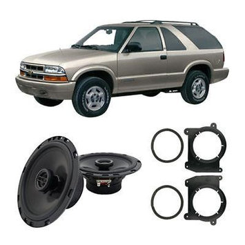 Harmony Master For Car Fits Chevy Blazer 1998-2005 Front Door Replacement Harmony HA-R65 Speakers