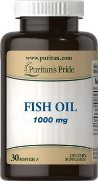 Puritan's Pride Fish Oil 1000 mg-30 Softgels