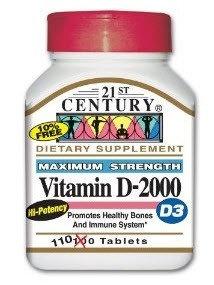 21st Century Vitamin D Supplement