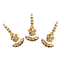 BridalBindis Gold Pack Bindi Face Tattoo Jewelry Gems Bollywood Bindi Shop Indian shine stone stickon crystals