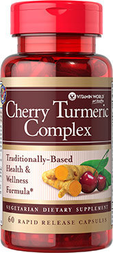 Vitamin World Cherry Turmeric Complex