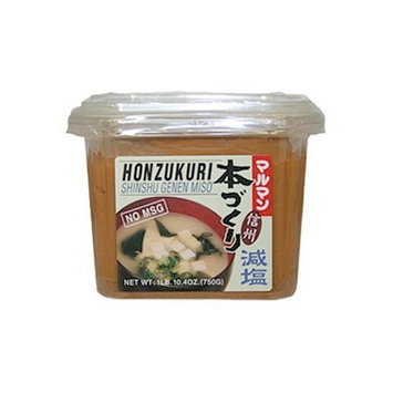 Honzokuri Low Salt Miso 26.4 Oz