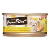 Mojetto Fussie Cat Premium Tuna with Anchovy Cat Can Food - 24x2.8oz
