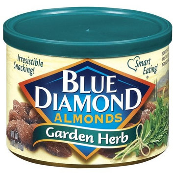 Blue Diamond Garden Herb Almonds 6oz Can