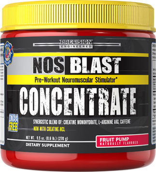 Precision Engineered NOS Blast Concentrate Fruit Punch