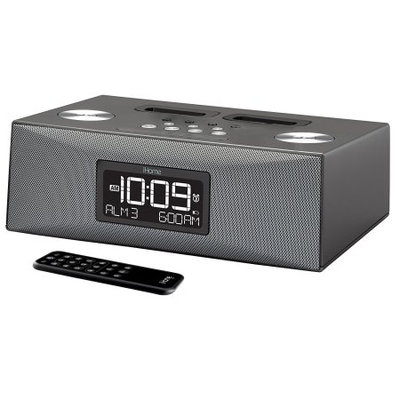 Ihome SDI Technologies iP88 iPod Clock Radio - Triple Alarm - AM, FM