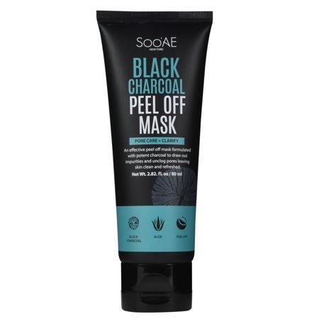 Soo Ae Black Charcoal Peel Off Mask