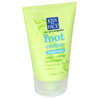 Kiss My Face Foot Crème (Peppermint, 118ml) by Kiss My Face