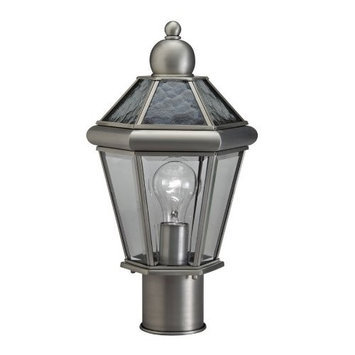 Portfolio Aztec 15-5/8-in Antique Pewter Standard Post Light 39336