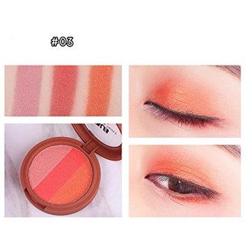 Alonea 3 Colors Eye Shadow Makeup Highlighter Powder Smoked Eyeshadow Palette