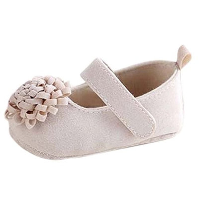 ZebraStory Fashion Baby Girl Casual Flat Shoes Indoor Toddler Prewalker Soft Soled Crib Sneakers Cotton Cloth Flower