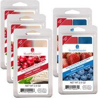 Rimports Usa Llc ScentSationals 5-Pack Duo Wax Cubes, Berry Parfait