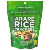 Lotus Foods, Arare Rice Crackers, Sweet & Savory Thai, 5 oz (142g) [Flavor : Sweet & Savory Thai]