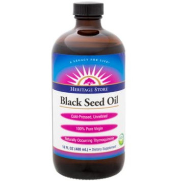 Black Seed Oil (16 Ounces Liquid) by Heritage at the Vitamin Shoppe