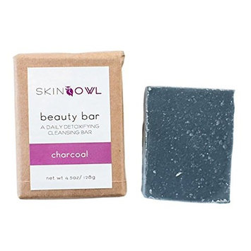 Skin Owl - All Natural/Vegan Charcoal Beauty Bar (For Combo/Uneven Skin)