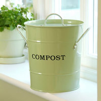 2-N-1 Kitchen Bucket small- Oatmeal Color