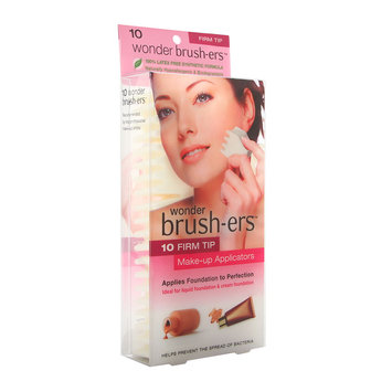 Firm Brush-ers For Foundation Liquid And Powder 10 Count